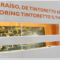 Restauración en directo del cuadro El Paraíso de Tintoretto