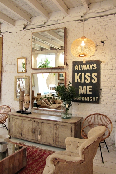 Madrid in love vintage industrial life crazy mary for Decoracion vintage madrid