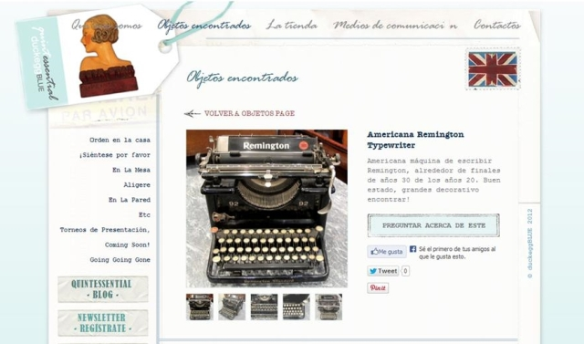 Máquina de Escribir bis