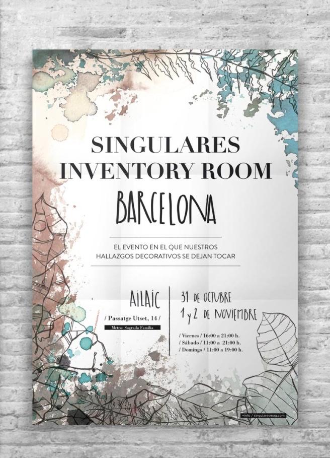 Singulares Inventory Room Barcelona
