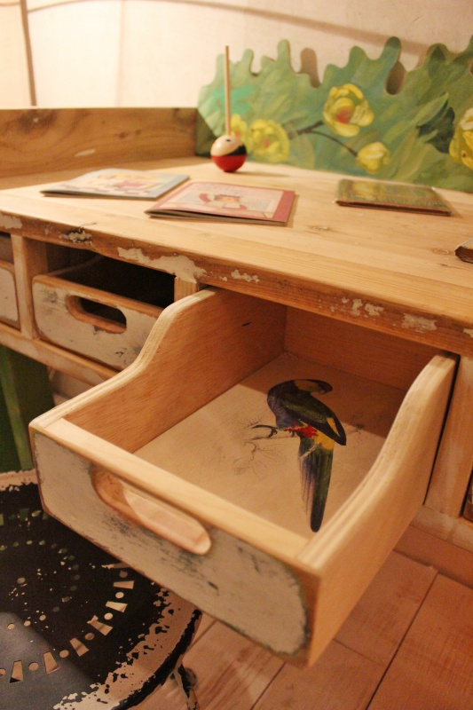 cajón-escritorio
