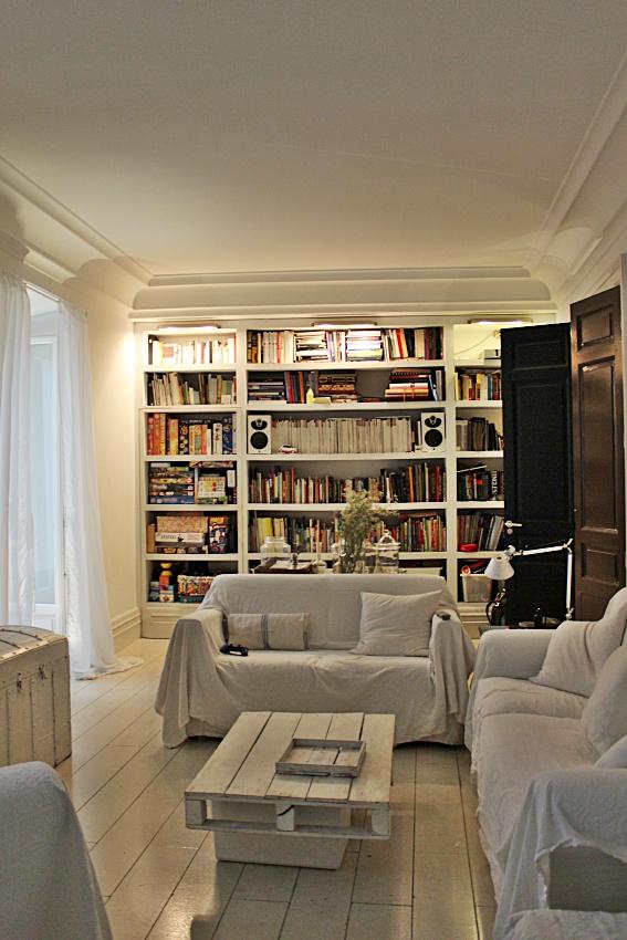El encanto blanco de antiq br crazy mary - Librerias salon ...