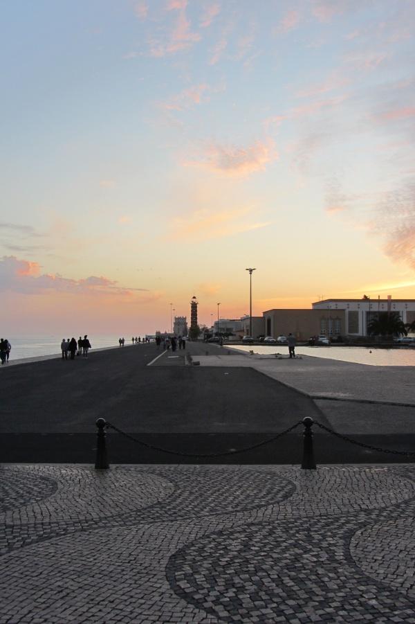 Puesta-de-sol-Lisboa
